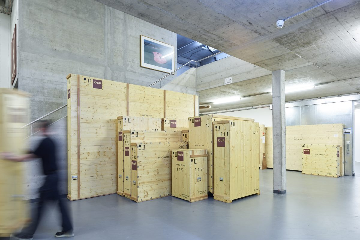Storage - Kraft E L S  AG - Exhibition Logistics Service - Basel